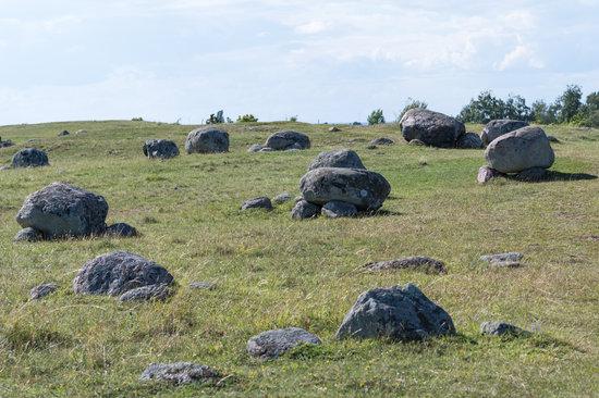 Historical Gravefield in Sweden
