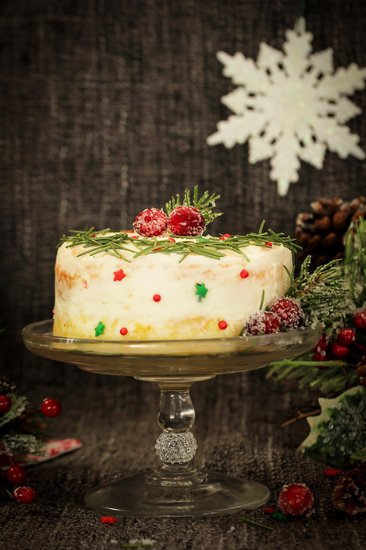 Homemade Christmas Cake