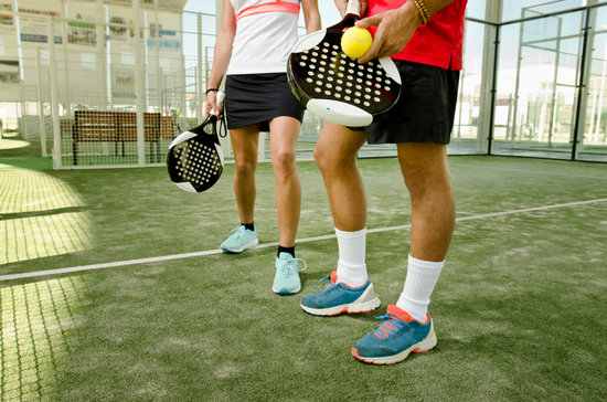 Paddle Tennis Body Parts