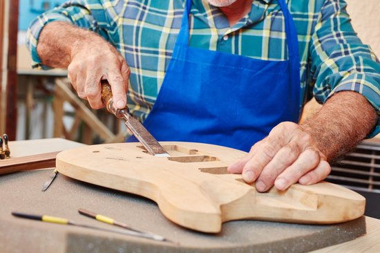 Guitar Maker or Luthier Woodworking