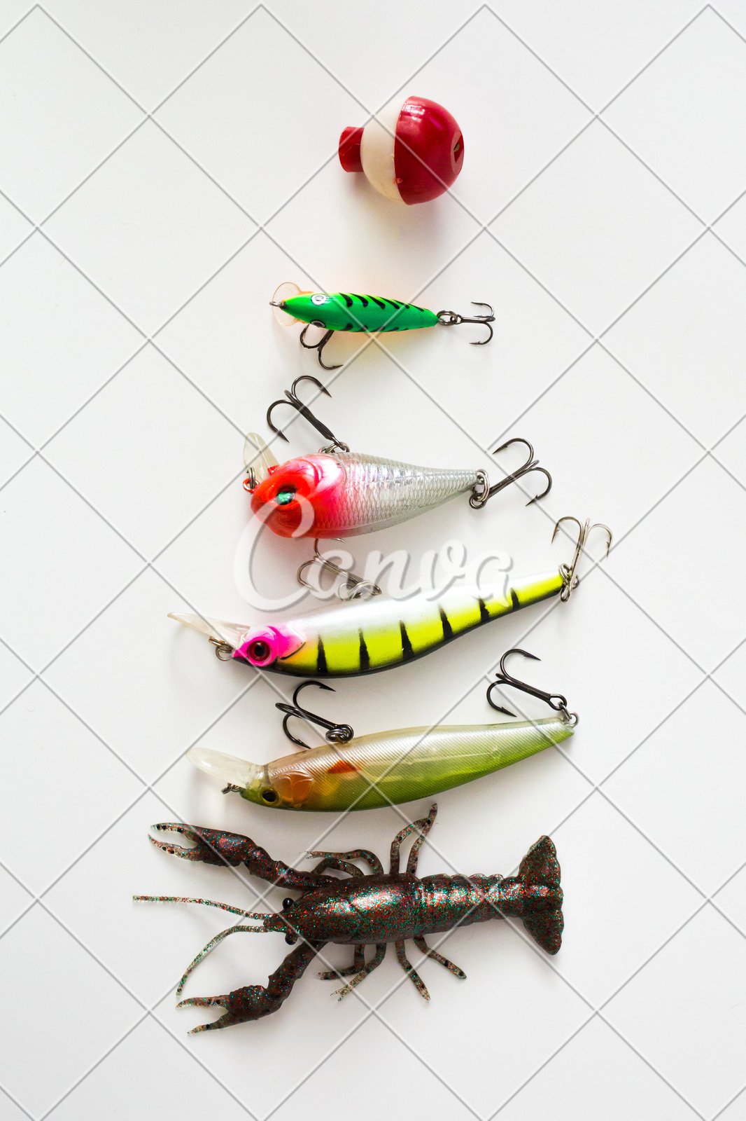 Fishing Lure Background