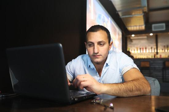 Armenian Handsome Man