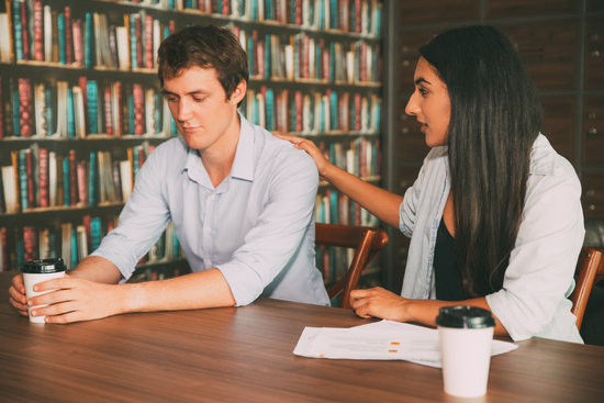 Understanding Female Student Supporting Friend
