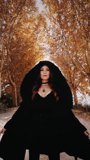 Woman Modeling during Autumn Season