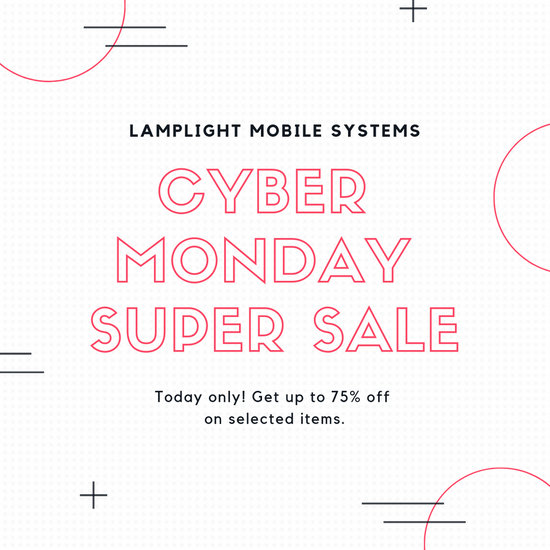 Pink Cyber Monday Sale Announcement Instagram Post