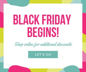 Colorful Black Friday Discount Large Rectangle Ad