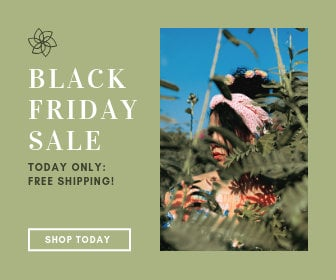 Green Black Friday Large Rectangle Ad