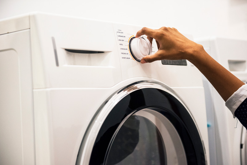 Select the cold water setting on your washing machine