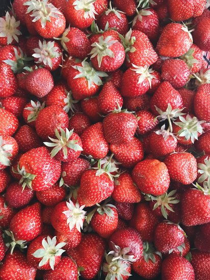 Red Strawberry Fruit Lot