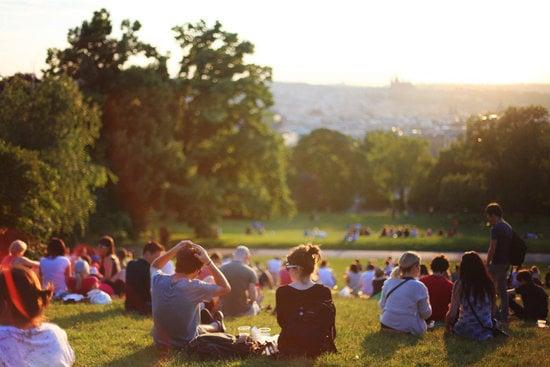 Group of People Enjoying Music Concert