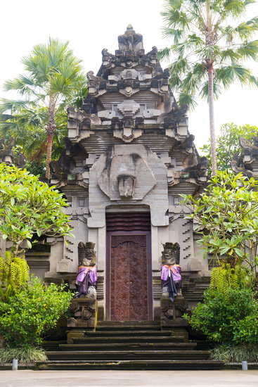 Traditional Balinese Statue Protecting from Evil Spirits Demon a