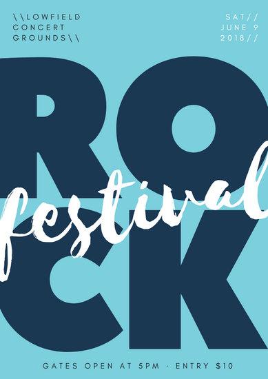 Rock Music Concert Poster