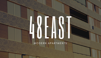 Brown Modern Apartment Real Estate Business Card