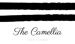 Black and White Event Planner Business Card