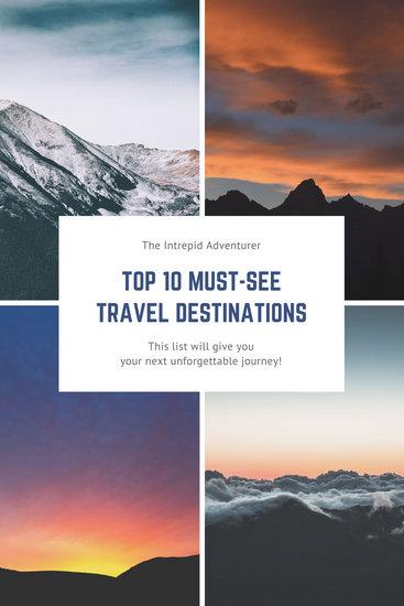 Outdoor Photo Travel Blog Graphic