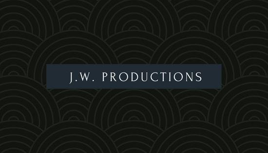 Black Circles Actor Business Card