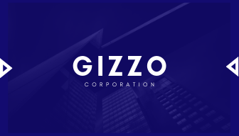 Blue Building Corporate Business Card