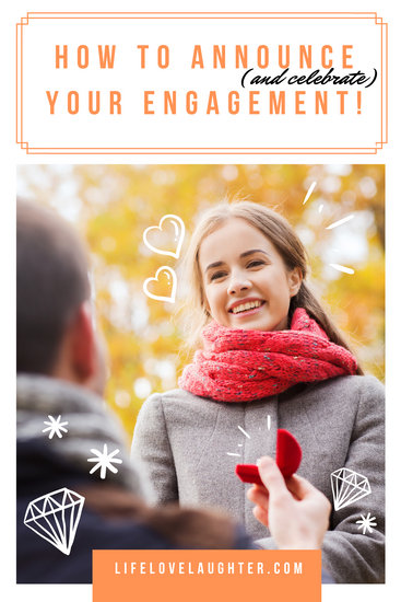 Engagement Announcement Ideas Blog Graphic