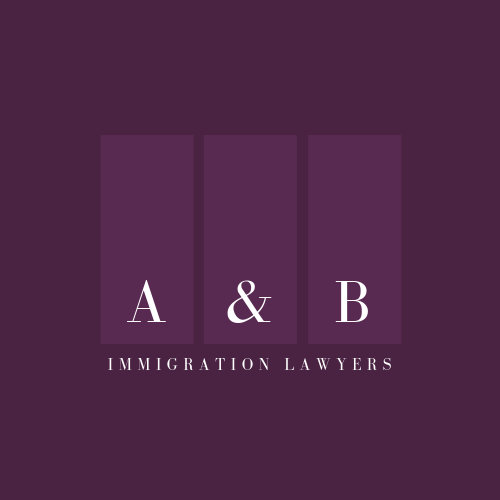 Purple Rectangles Attorney & Law Logo