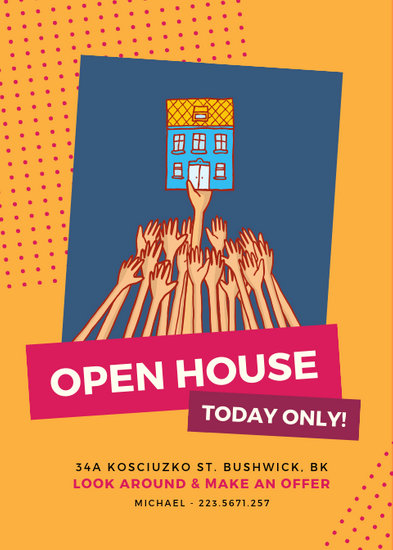 Open House Event Flyer