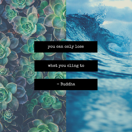 Nature Quotes Modern Simple Collage Instagram Post