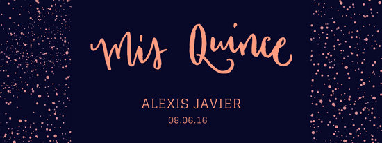 Mis Quince Facebook Event Cover Photo