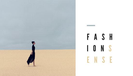 Minimalist Modern Fashion Business Card