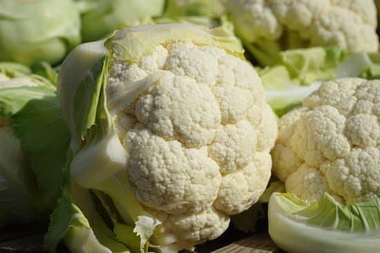 Nutritional Information Of Cauliflower