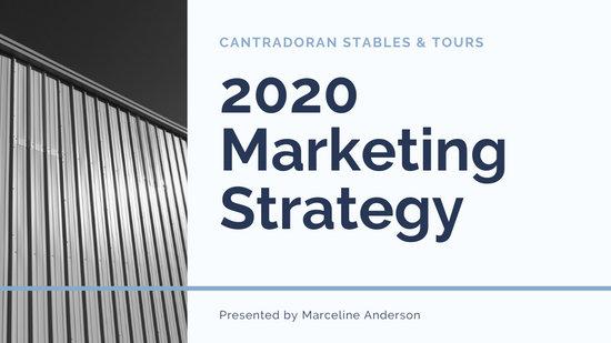 Simple Marketing Business Presentation