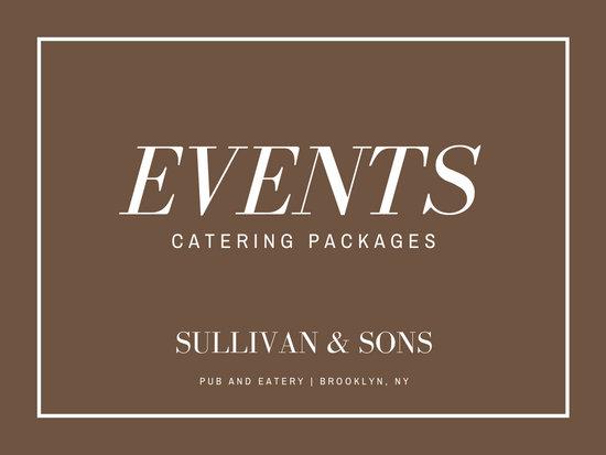 Simple Elegant Brown Catering Business Presentation
