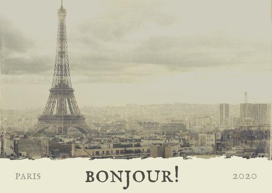 White Antique Vintage French Postcard