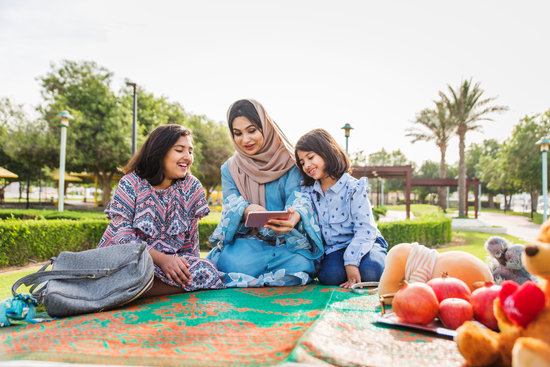 Happy Family in Dubai