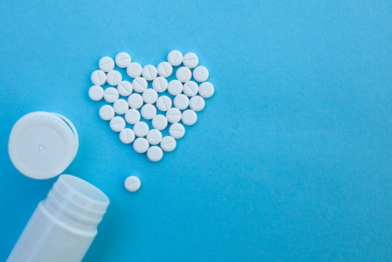 Pills in Shape of the Heart
