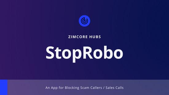 Blue and Purple StopRobo Presentation