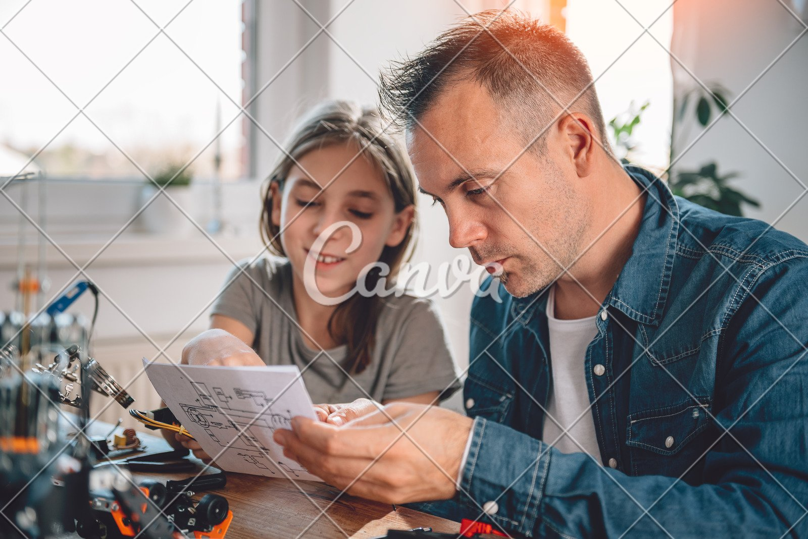 Electronic Schematic Stock Photos Electronic Schematic Stock