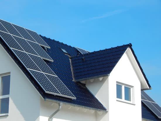 Solar System Installation on House Roof