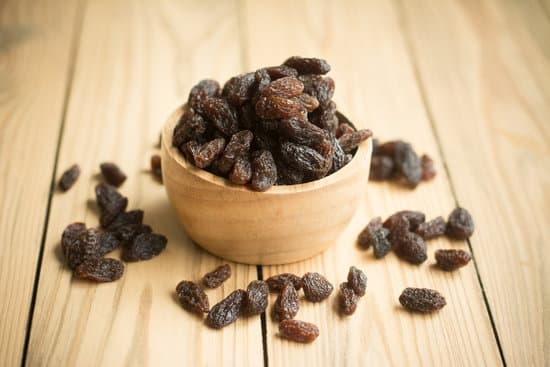 Some raisins